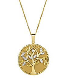 """Magnifying Glass & Mirror Pendant Gold-Tone Necklace, 38"""""""