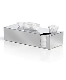 Tissue Box with Extra Storage - Polished