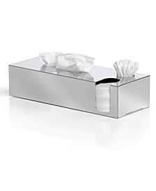 Tissue Box with Extra Storage - Polished