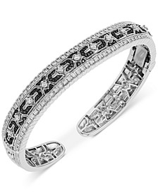 Diamond Cuff Bracelet (1-1/4 ct. t.w.) in Sterling Silver