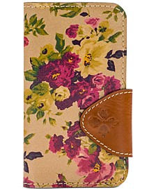 Antique Rose Brenna Leather Phone Case
