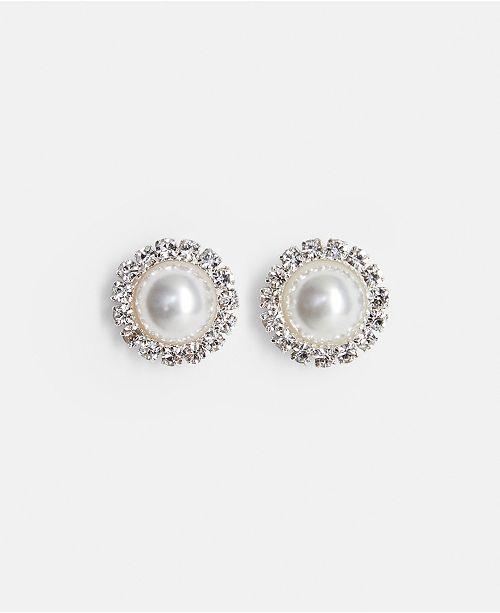 MANGO Leandra Medine Pearl Detail Earrings