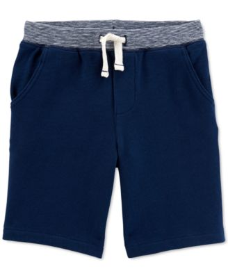 Carters Baby Boys French Terry Shorts Grey