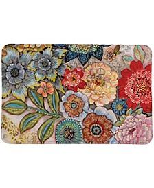 Boho Bouquet Memory Foam Rug