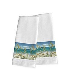 Summer Breeze 2-Pc. Hand Towel Set