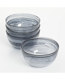 Spun-glass 4-piece bowl set, Created For Macy's