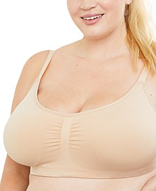 Plus Size Basic Seamless Maternity Bra