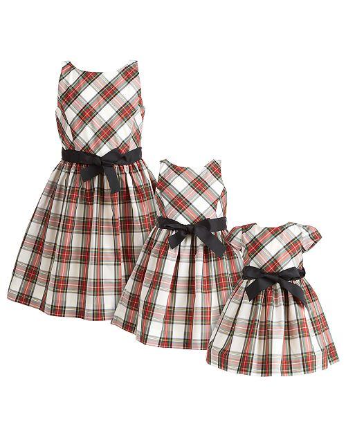 Polo Ralph Lauren Baby, Toddler, Little & Big Girls Tartan Plaid Dresses