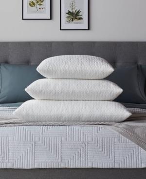 LUCID Fiber and Shredded Foam Pillow