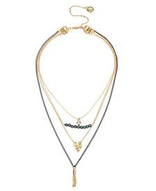 Pearl Pendant Necklace Set
