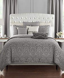 Vernon Reversible Full/Queen 3 Piece Duvet Set