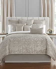 Arianna Reversible California King 4 Piece Comforter Set