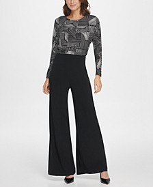 Jersey Ruched Top Jumpsuit