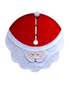 52-Inch Santa Tree skirt
