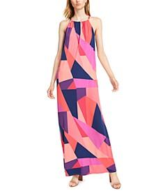Milian Geo-Print Maxi Dress