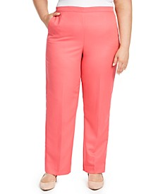 Plus Size Miami Beach Pull-On Pants