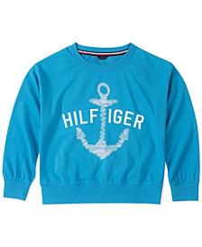 Big Girls Anchor Sweatshirt