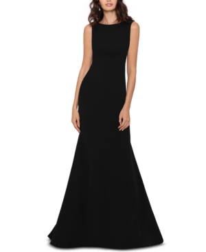 Betsy & Adam Bow-Back Cascade Gown