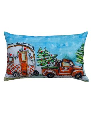 Christmas Cravan Pillow Cover