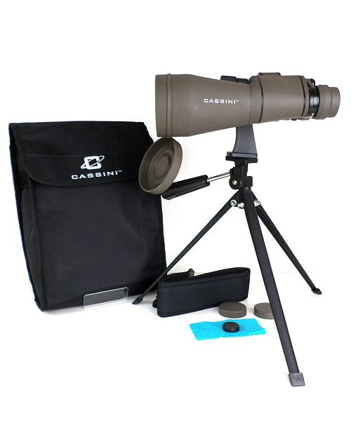 Cassini 10 - 30x 60mm Astronomical Binocular Zooms Closer