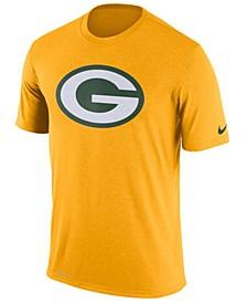 Men's Green Bay Packers Legend Logo Essential 3 T-Shirt