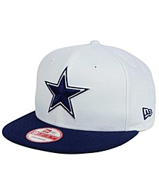 Dallas Cowboys Two Tone 9FIFTY Snapback Cap