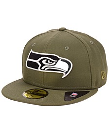 Seattle Seahawks Basic Fashion 59FIFTY-FITTED Cap