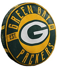 Green Bay Packers 15inch Cloud Pillow