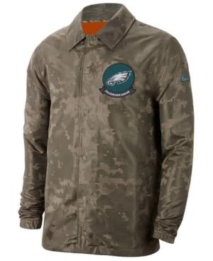 Nike Men's Philadelphia Eagles Salute to Service Light Weight Jacket