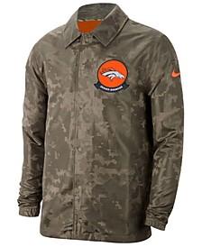 Men's Denver Broncos Salute to Service Light Weight Jacket