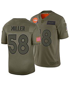 Men's Von Miller Denver Broncos Salute To Service Jersey 2019
