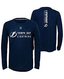 Big Boys Tampa Bay Lightning Deliver Long Sleeve T-Shirt