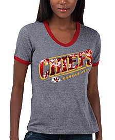 Women's Kansas City Chiefs Touch Free Throw T-Shirt