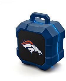 Prime Brands Denver Broncos Shockbox LED Speaker