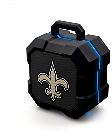 Prime Brands New Orleans Saints Shockbox LED Speaker