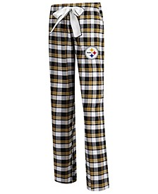 Women's Pittsburgh Steelers Piedmont Flannel Pajama Pants