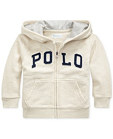 Baby Boys Twill Terry Hoodie