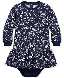 Baby Girls Drop-Waist Dress
