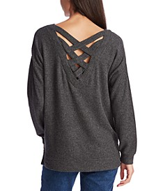 Cozy Cross-Back Top