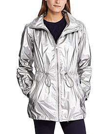 Drawcord Zippered Jacket