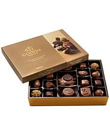 고디바 쇼콜라티에 19피스 넛츠 & 카라멜 초콜릿 기프트 박스 Godiva Chocolatier 19-Pc. Nuts & Caramel Gift Box,