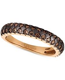 Chocolatier® Chocolate Diamonds® Statement Ring (3/4 ct. t.w.) in 14k Rose Gold