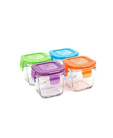 Wean Cubes 4 Pack - 4 Oz./120 ml Food Storage