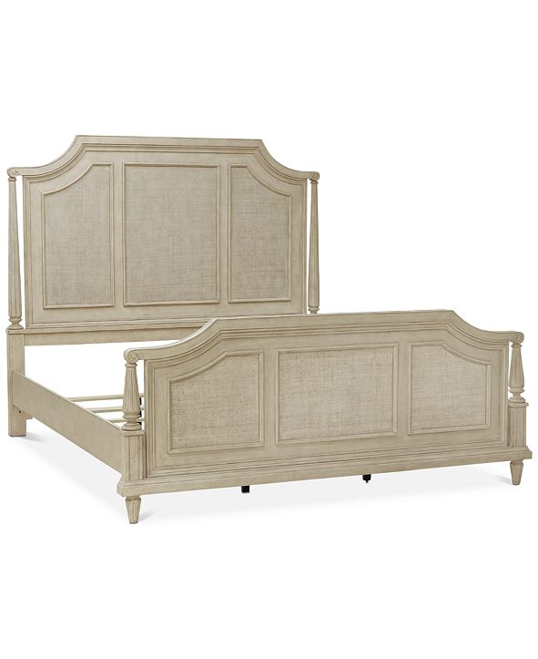 Furniture Chelsea Court King Bed, Created for Macy's
