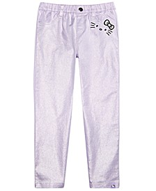Toddler Girls Metallic Pants