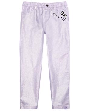 Hello Kitty Little Girls Metallic Pants