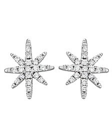 Diamond (1/10 ct. t.w.) Earrings in 14K White Gold
