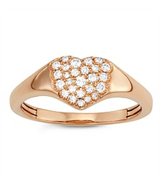Diamond (1/4 ct. t.w.) Ring in 14K Rose Gold