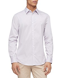 Men's Slim-Fit Stretch Solid Shirt