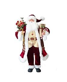48-inch Red Santa